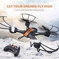 Mini rc drone jjrc h33 kvadrokopter 2.4g 4ch 6 axis gyro RC Quadcopter Modo Sin Cabeza de una Tecla de retorno Con Luces de Flash VS H36