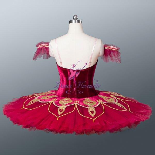 Red passion professionale classica balletto pancake tutu per il bambino  usura della fase d76a98bb30d