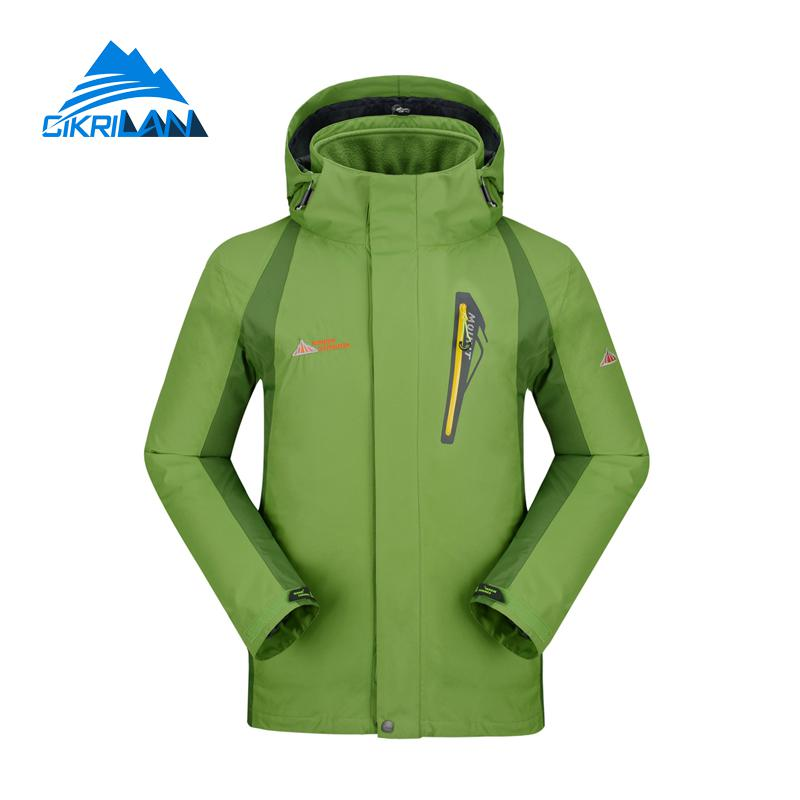 Hot Winter Windbreaker Waterproof Coat 3in1 Hiking Climbing Skiing Snowboard Jacket Men Camping Fishing Ski Jaqueta Masculina цены онлайн