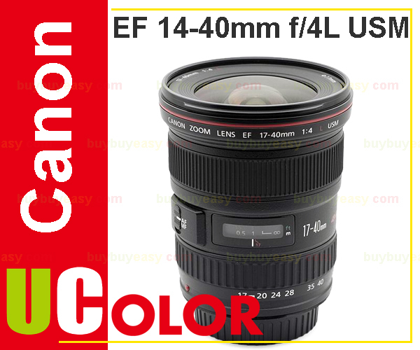 Genuine Canon EF 17-40mm f/4L USM Ultra-Wide Zoom Lens slr объектив uv canon ef 17 40mm f 4l usm
