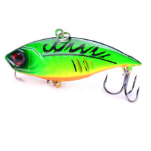 Купить с кэшбэком 1 PCS 6.5cm/11g 3D Eyes Lifelike Minnow Fishing Lure 6# Hooks Fish Wobbler Tackle Bait Artificial Hard Bait Swimbait