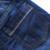 LittleSpring Muchacho de La Manera Estilo de La Calle de Hip-Hop Pantalones 2017 Nuevo Bebé Forro Polar Cálidos Pantalones Vaqueros Coreano Denim Lavado Con Agua Pantalones