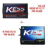 Kess V2 V2.3 4,036 Obd2-manager Tuning Kit Master Ver + KTAG V6.070 ECU Programming Tool Volle Funktion Kess V2 Kostenloser ECM Titan