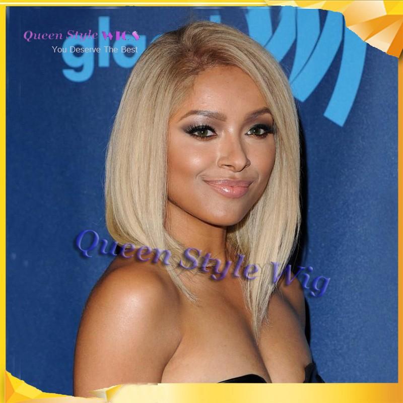 Celebrity Kat Graham Polished Luxury Gorgeous Medium Length 14