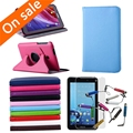 "New Folding Stand Rotating PU Leather Case For Asus FonePad 7 FE170 7"" Tablet"