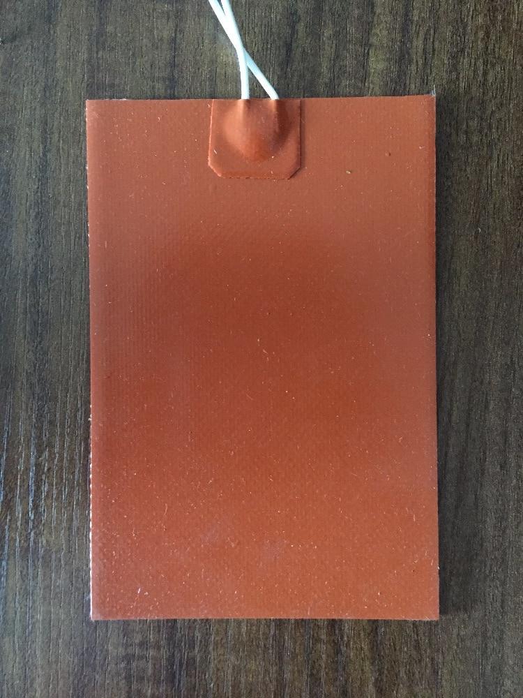 Réchauffeur de coussin de chauffage de Silicone 110 V 600 W 300mm x 400mm 5.5A pour le lit de chaleur d'imprimante 3d 1 pièces silicone de réchauffeur de réchauffeur industriel