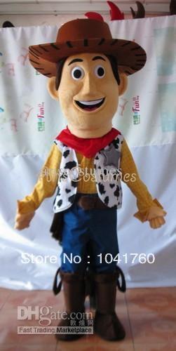 Hot sale New Arrive toy story Woody Cowboy Mascot Costume adult Fancy Dress  Charactor school mascot costume de2da4b575f