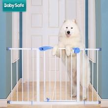 75-82 см Высокое качество тихий твердой древесины детские ворота лестничные ограждения собака забор собака двери и окна