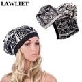 Sombreros de las mujeres Rhinestone Cachemira de punto Gorros Sombrero para Las Mujeres Invierno Primavera Capó Femme Hiver Tapa Ocasional Femal Invierno de Piel sombrero