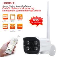 LOOSAFE 2MP Security WIFI IP Camera Outdoor CCTV Full HD 1080P 2 0 Megapixel Bullet Camera