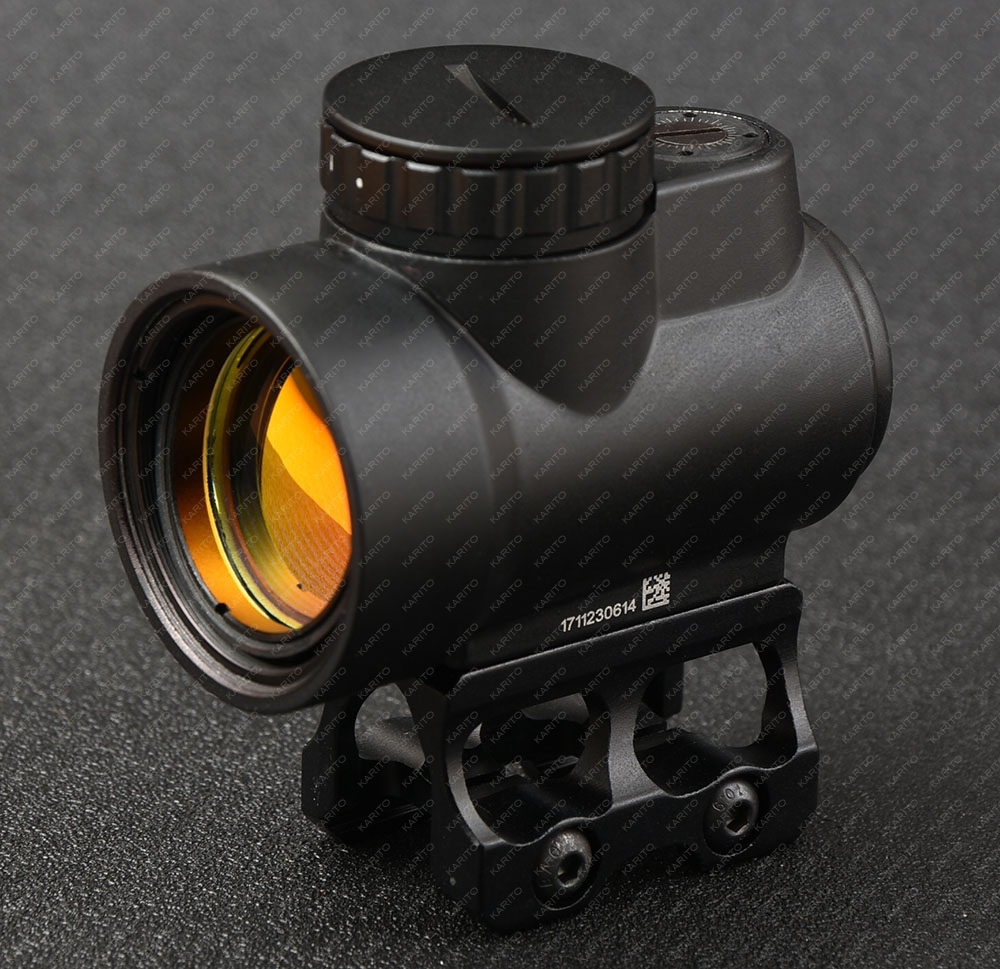 Tactical trijicon MRO style 1x red dot sight scope for high and Low picatinny rail mount base hunting shooting M9159 arguing about empire