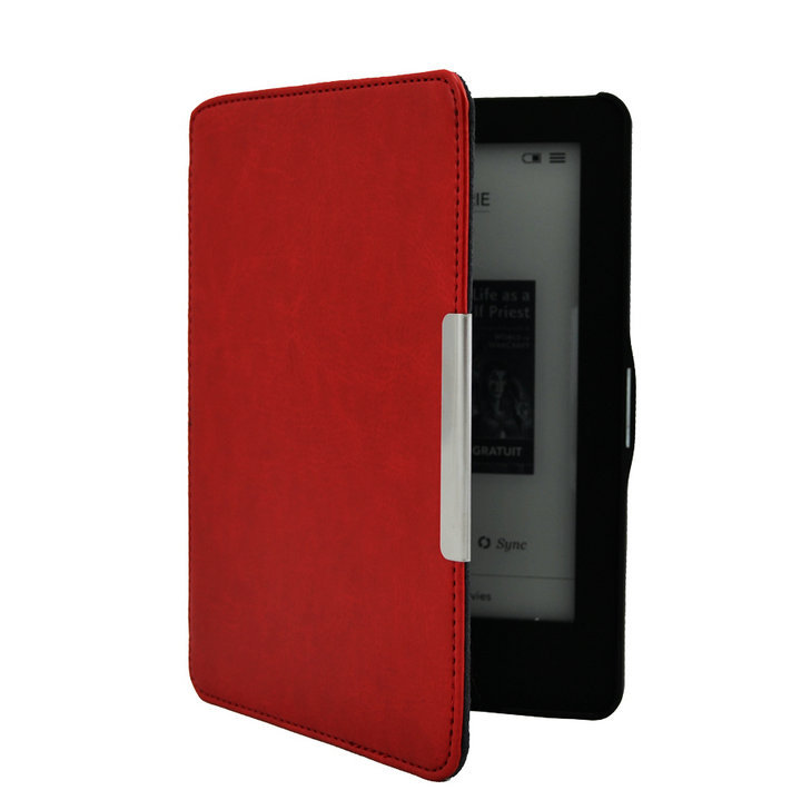 for Kobo Glo HD 2015 Case Flip Leather Smart Case funda for Kobo Glo HD 6