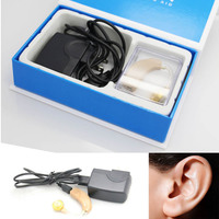 Adjustable Sound Amplifier New Axon C 108 Ear Care Rechargeable Digital Noise Reduction for BTE Hearing Aid Health Care