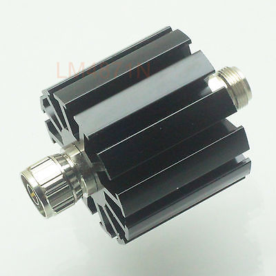 Hot Factory Direct Wholesale Attenuator 30W 30 Watts DC-3 Ghz 20dB N RF coaxial Power plug M to jack F 50resistance image