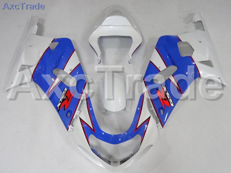 Комплекты мотоцикл Обтекатели для Suzuki GSXR системы GSX-Р 600 750 GSXR600 GSXR750 2001 2002 2003 К1 пластичной Впрыски ABS обтекатель комплект A749