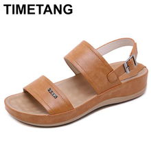 TIMETANG Beachflipflops shoes woman summersandals womans shoes sajdals platform with high heel and wedge with a pair of sandals