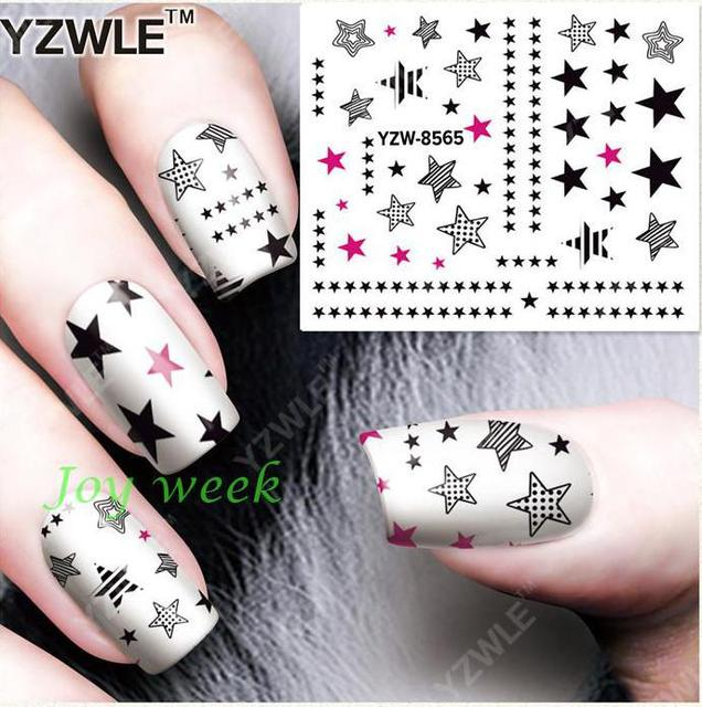 Water Sticker Voor Nagels Art Alle Decoraties Sliders Sterren Lijm