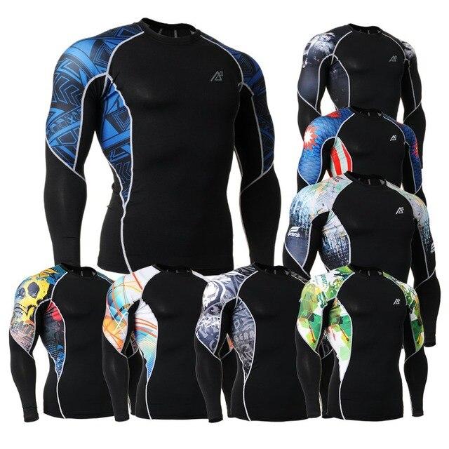 2fb8b7f97 best designer tees spandex autumn compression wear masculine t-shirts tall  tee compression men t shirt spandex cycling t shirt