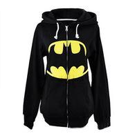 Fashion New Superhero Batman Superman Cosplay Coat Antumn Winter Hoodie Sweatshirt Tracksuit Unisex Hooded Clothings Blue