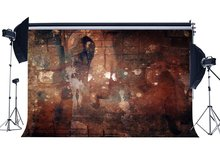 Shabby Gothic tło Grunge tła Graffiti cegły Peeling rozmyte ponury Concerte ścienne fotografia tło