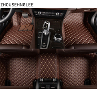 zhoushenglee car floor mats for DS DS3 DS4 DS4S DS5 DS6 car accessories car styling Custom foot mats carpet cover