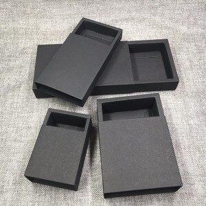 Image 4 - 50 sztuk na prezent, z papieru siarczanowego pudełka do pakowania puste pudełko papierowe DIY pudełka do przechowywania na mydło wyrabiane ręcznie/prezenty/rzemiosło/biżuteria/cukierki/ciasto/Rose