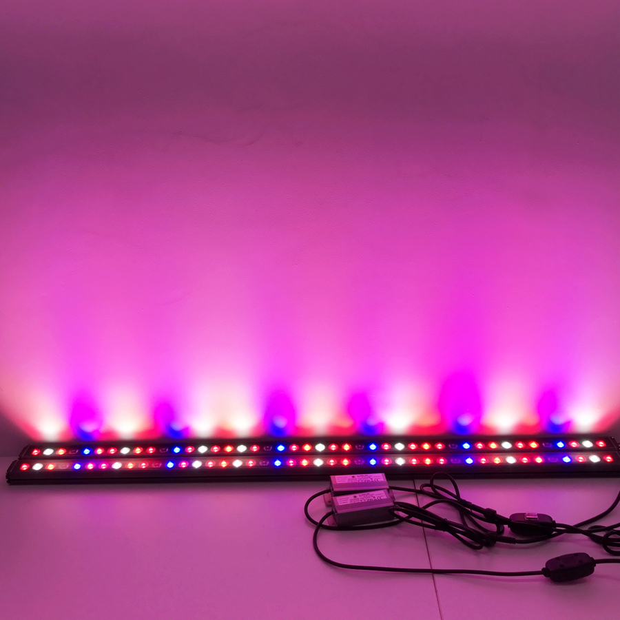 horticulture meanwell power supply 730nm far red led strip grow lights for hydroponic trays growing with 5 years warrant