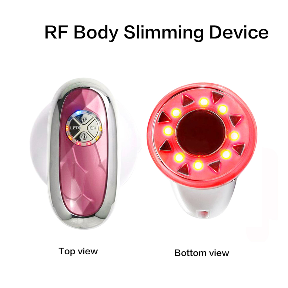 3 in 1 LED Photon Cavitation Slimming RF Radio Frequency Slim Cellulite Skin Rejuvenation Vacuum Body Loss Weight Device Machine mini portable usb rechargeable ems rf radio frequency skin stimulation lifting tightening led photon rejuvenation beauty device