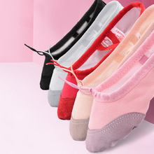 Girls Ballet Shoes Dancing Shoes For Women Soft Canvas Practice Shoes