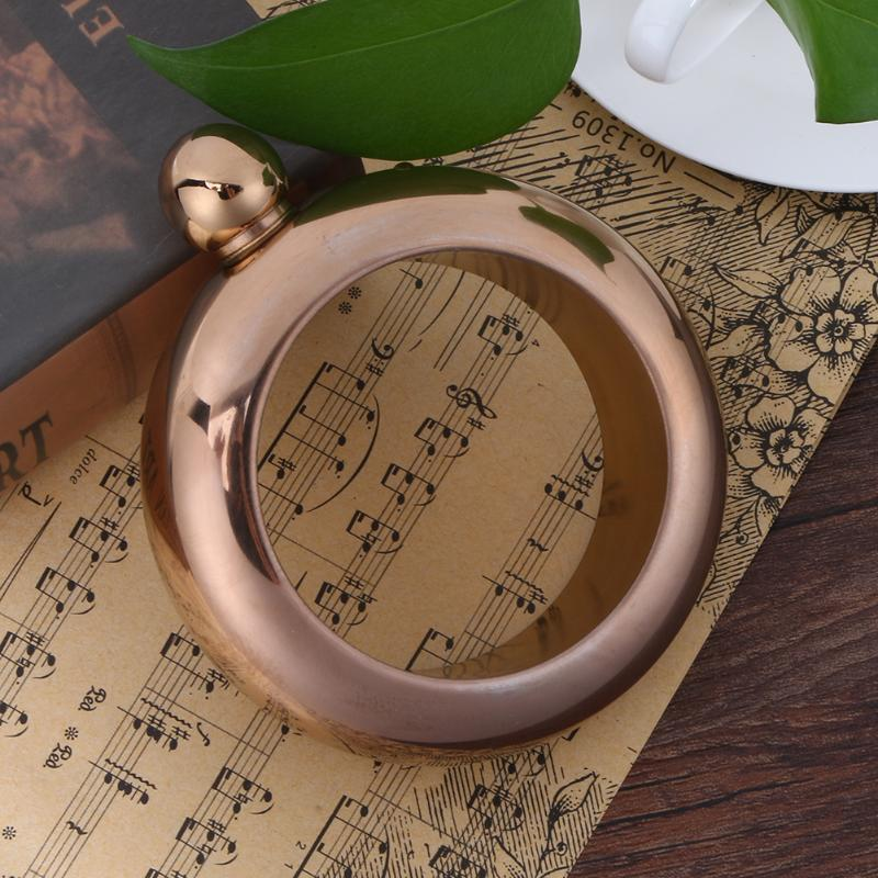 Portable Bangle Bracelet Hip Flask Okrugli Elegantan Vinski Bracelet - Kuhinja, blagovaonica i bar - Foto 4
