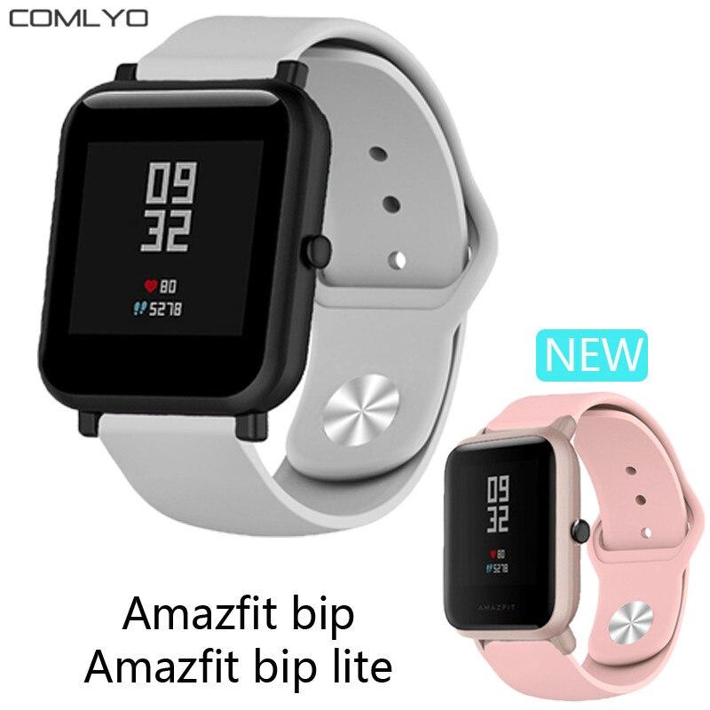 Silicone Wristband For Xiaomi Huami Amazfit Bip BIT Lite Strap Belt Watch For Galaxy Watch 42mm Gear Sport /GTS Strap Bracelet