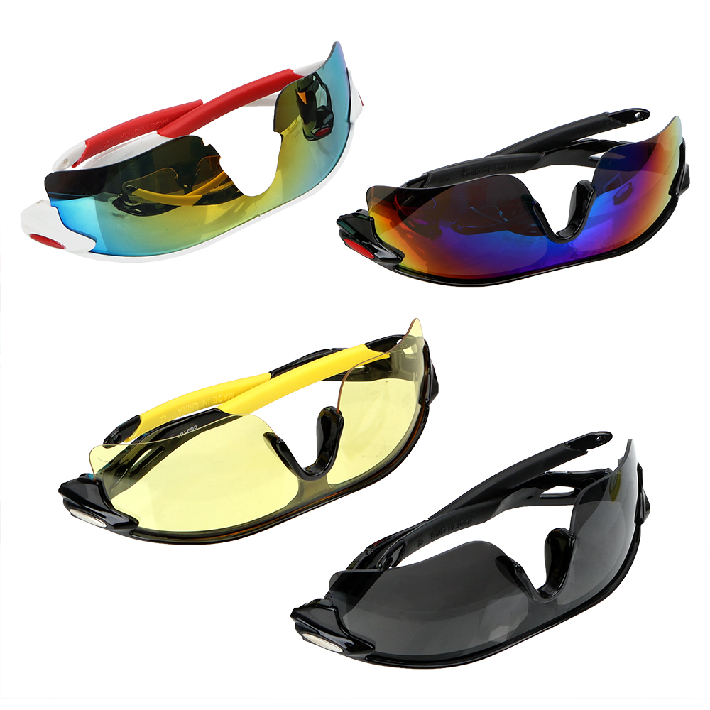 LEEPEE UV Protection Night Vision <font><b>Drivers</b></font> Goggles Explosion-proof Car Night-Vision <font><b>Glasses</b></font> Motocross Sunglasses Anti Glare image
