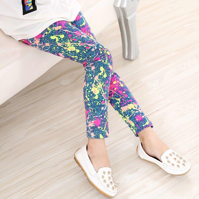 Multi-Color-Girl-Pant-Printing-Flower-children-pants-Spring-Autumn-kids-leggings-skinny-girls-leggings-Kids-Clothing-4