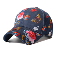Outdoor baseball cap spring and summer fashion personality embroidery hat tide brand female outdoor travelsunscreen couple visor