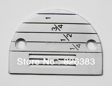 1 Piece good quality Industrial Sewing machine Needle plate you can choose size E10-E24 цена
