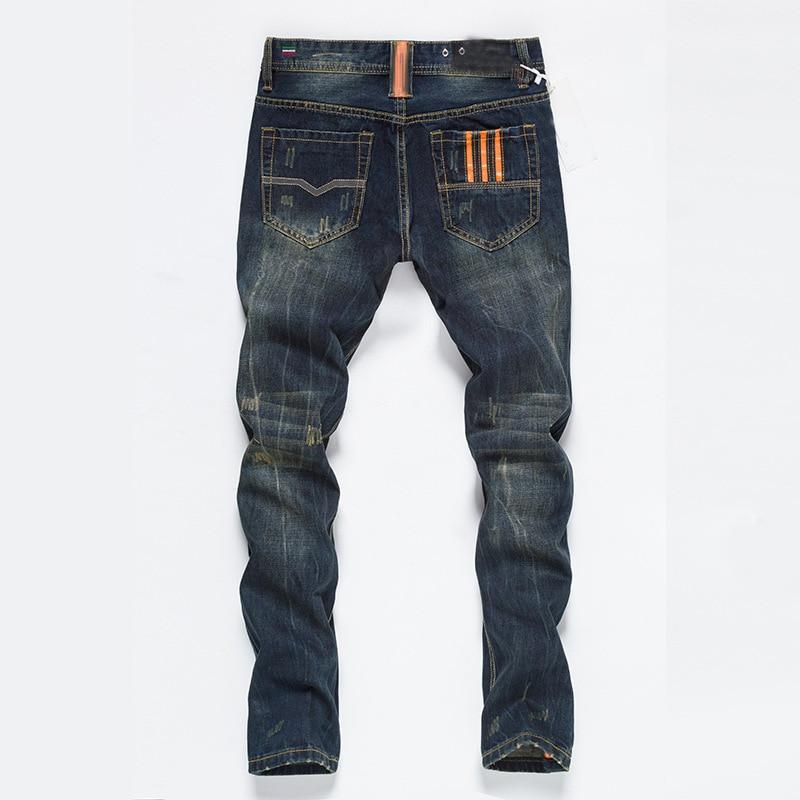 Famous Fashion Designer Button Jeans