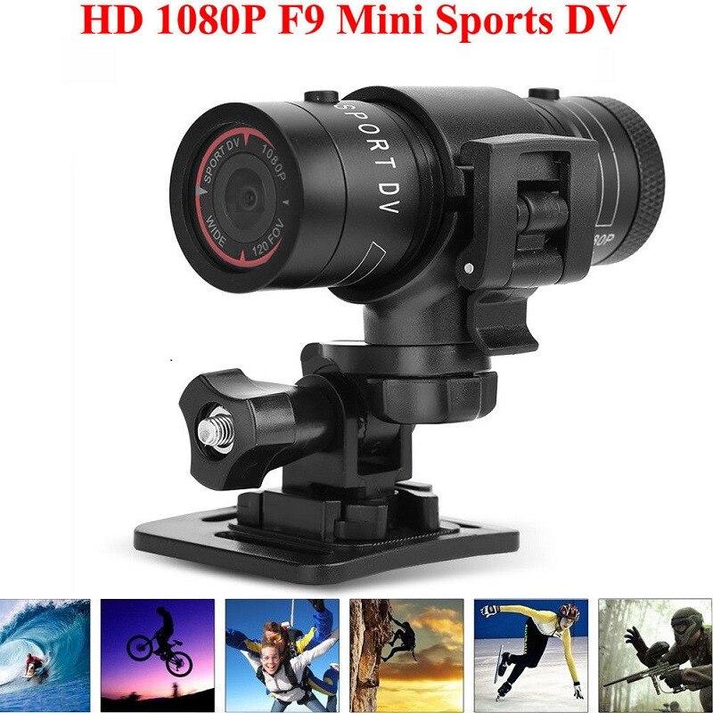 цена на Mini F9 HD 1080P Sports DV Action Camera Video DVR DV Camcorder For Bike Motorcycle Driving Recorder Sport DV HD Mini Camera