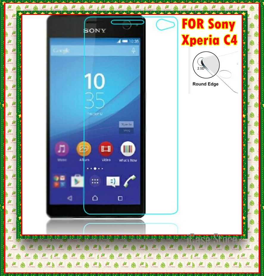 Premium tempered Glass for <font><b>Sony</b></font> c4 <font><b>Xperia</b></font> C4 <font><b>E5333</b></font> E5343 E5363 E 5333 5343 5363 Screen Protector Film Screen Protector Film case image