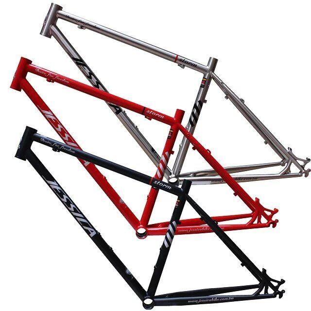 Free shipping JESSICA 520 steel MTB Bike Frame 26 inch Mountain Bike Frame Bicycle Frame Bicycle Parts 15.5 / 17 3color mtb bike folding frame 26 aluminium folding mountain 17 inch bike frame bike suspension frame bicycle frame