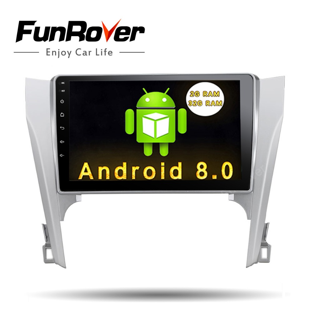 FUNROVER 10 1 Android8 0 car dvd player multimedia stereo radio navi font b gps b