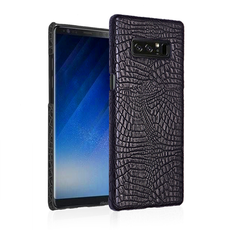 For <font><b>Samsung</b></font> <font><b>Note</b></font> <font><b>8</b></font> Quality PC Crocodile Grain Back Cover Hard Case for <font><b>Samsung</b></font> <font><b>Galaxy</b></font> <font><b>Note</b></font> <font><b>8</b></font> N950 N950F N950FD N950U <font><b>N950N</b></font> N950W image