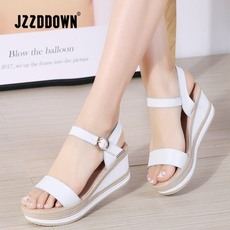 Sandalias Plataforma Jzzddown Verano Para Zapatos Mujer Plana De vwm8OyNn0