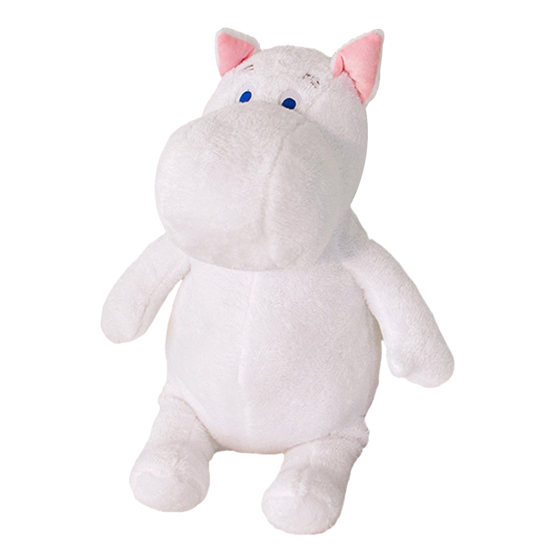 Genuine Huge 60cm Moomin Hippo Plush Toy Stuffed Animal Doll Valentine's Day gift lover Free shipping the huge lovely hippo toy plush doll cartoon hippo doll gift toy about 160cm pink