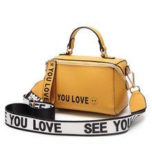 Brand Women Yellow Boston Handbag Purse 2019 New Fashion Ladies Hand Bags Small Totes Summer Shoulder Crossbody Bags for Women
