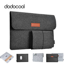 Dodocool Lembut Lengan Laptop Casing Case untuk Apple Mac Buku Udara Pro Retina 11 12 13 Laptop Anti-Gores Cover untuk Mac Book 13.3 Inch(China)