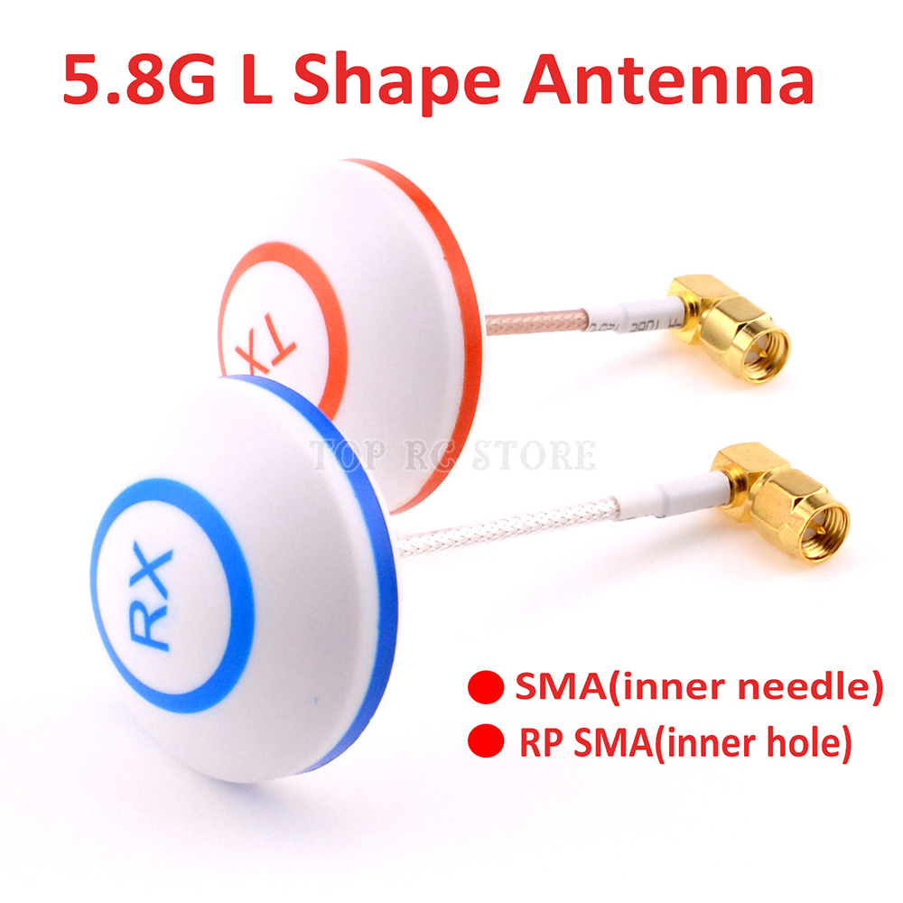 Mushroom Antenna //Aerial FPV 5.8G RP SMA for TX or RX omnidirectional Ultralight
