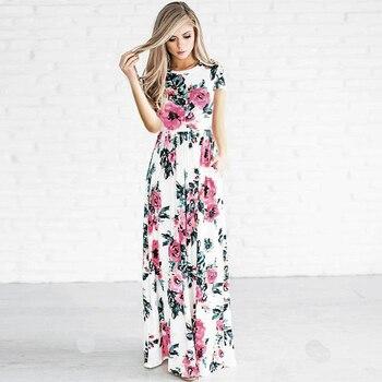 b1673d8c34d04f5 Product Offer. Короткие/Длинные рукава свободные летние Для женщин платье  ...