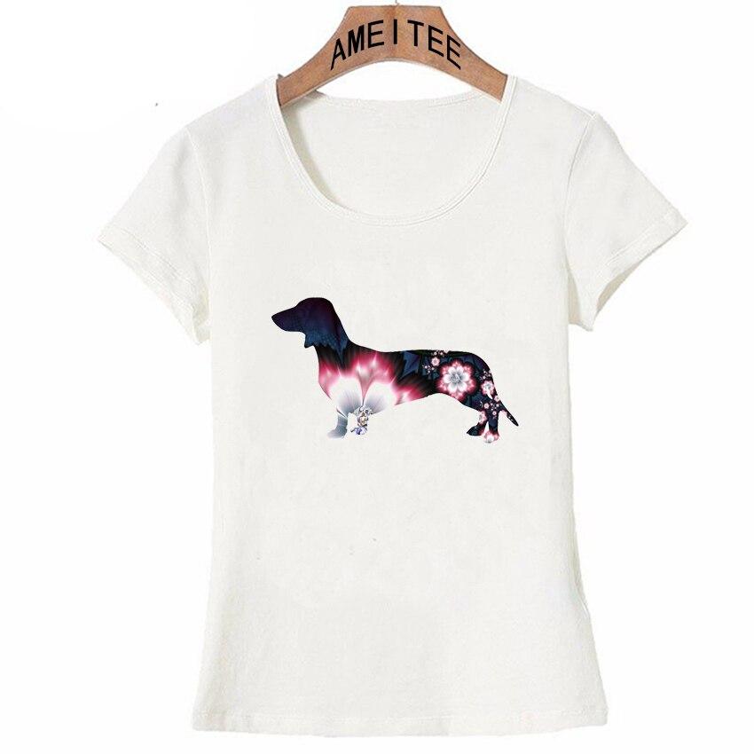 Frauen Kleidung & Zubehör Gerade Ich Liebe Dackel Tattoos Print T-shirt Sommer Mode Frauen T-shirt Funny Dog Design Casual Tops Weiß Tees Weiblich Kurzarm Strukturelle Behinderungen