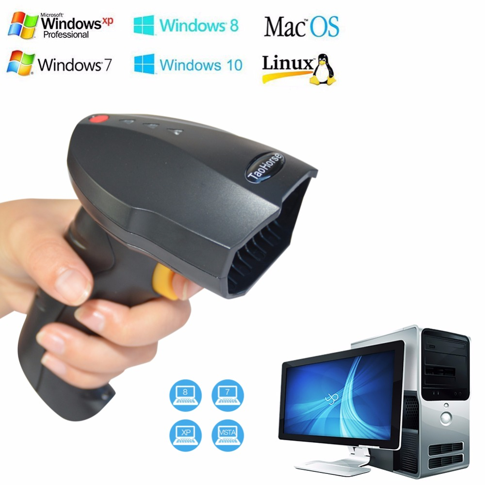 Wireless Laser Barcode Reader Scanner Ios Long Range Cordless Bar Code  Reader For And Inventory Cash Drawer Taohorse X20 Negative Scanner Network  Ip