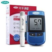 Cofoe YiYue Blood Glucose Meter with Test Strips &Lancets Medical No coding Blood Sugar Meter Glucometer Diabetes Tester